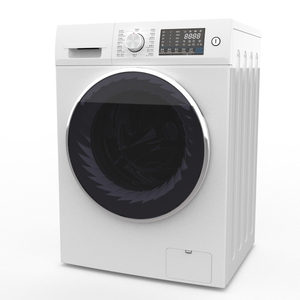 economical price 8.0KG full automatic Washer ISO14001 china manufacture 1200 RPM BLDC motor with 500mm door