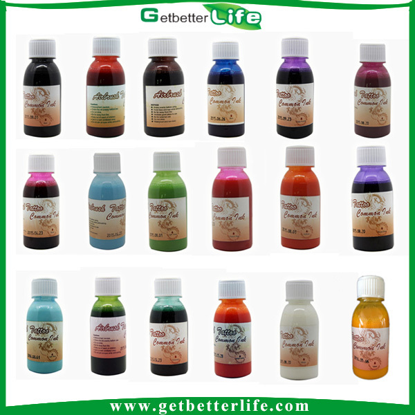 2015 getbetterlife alcohol based water proof temporary for Do airbrush tattoos come off in water