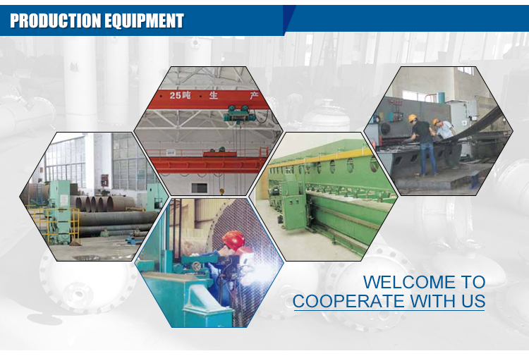 CE approved tube and shell heat exchanger