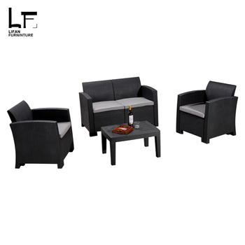 Merveilleux PP Injection Plastic Outdoor Modern Sofa