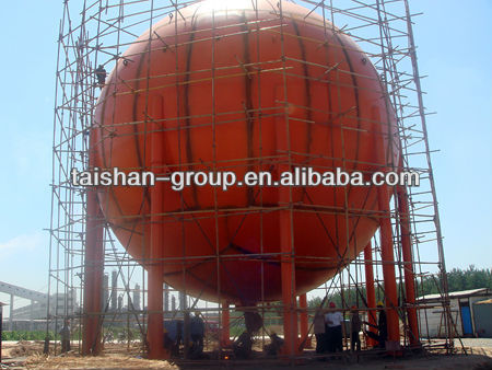 High quality small capacity spherical tank/vessel made by a top class manufacturer