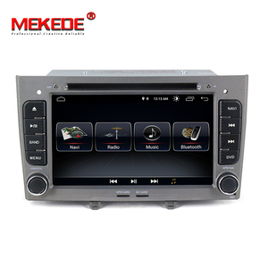 TDA7851 Android 8.0 Car DVD player For peugeot 308 408 with GPS Navigation radio