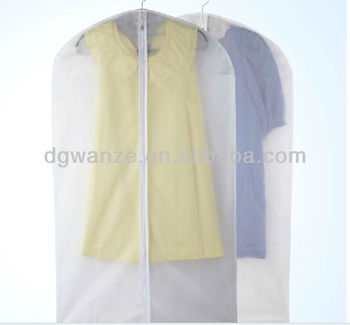 Clear Dance Costume Garment Bag With Pocket Poly Bags For Garments Product On