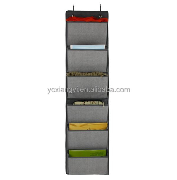Office home storage organizer fabric hanging magazine organizer