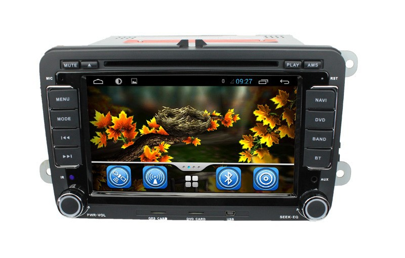 With Dual Core Cpu 1G RAM Capacitive Screen 3G internal Wifi for VW PASSAT Android 4.2.2 autoradio with gps