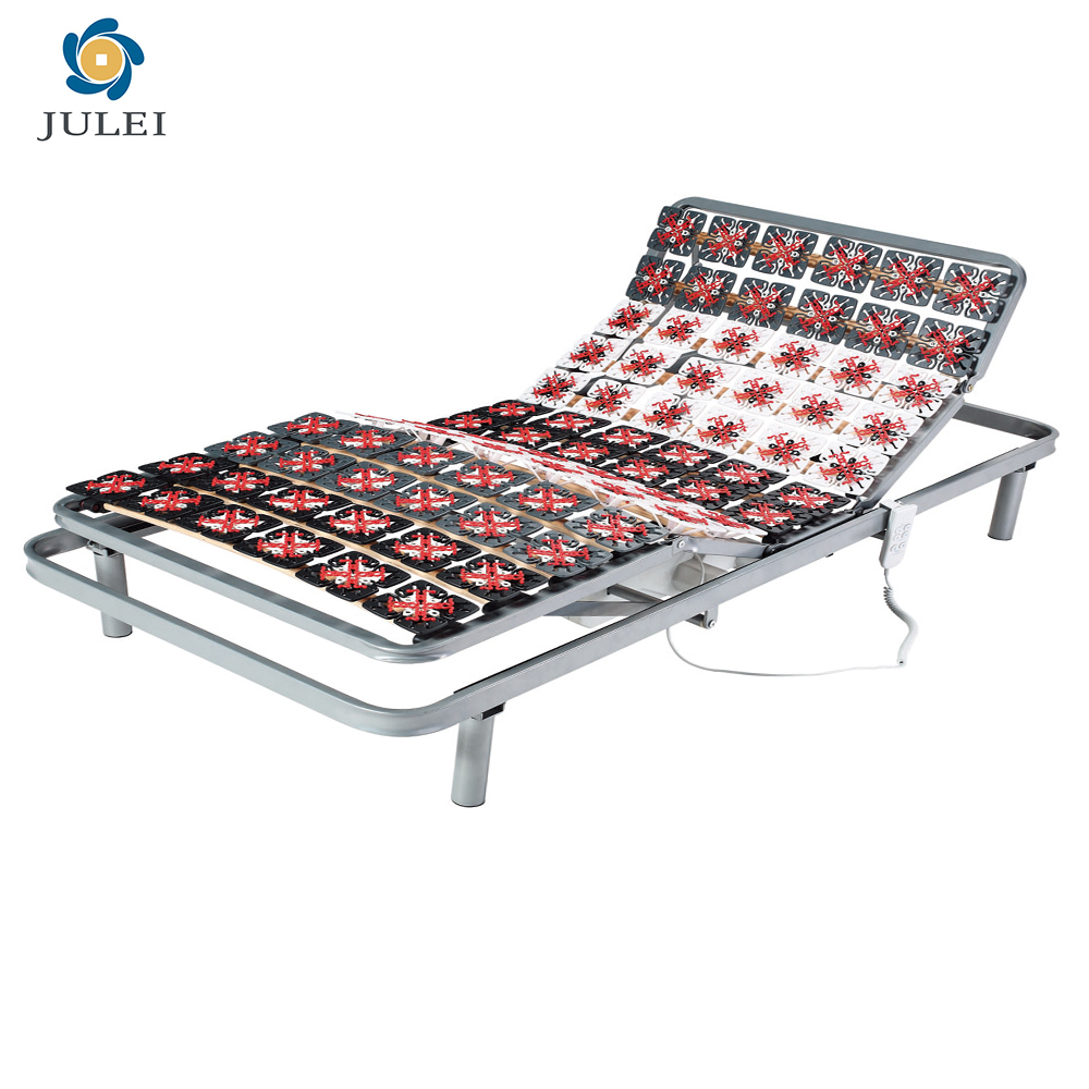 DJ-PW35 Plastic Plots Five Zone Adjust Electric Adjustable bed with bed case