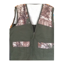 Real Tree Camouflage Fishing Hunting Camping Outdoor Mens Vest