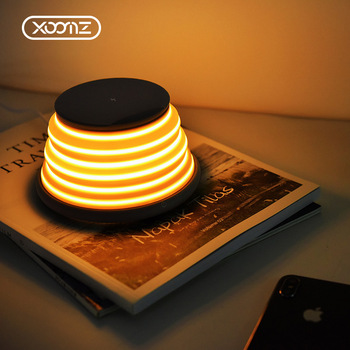 OEM Acceptable Colorful Light Wireless Charger For All Phones