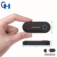 3.5 millimetri aux wireless 4.2 <span class=keywords><strong>Audio</strong></span> bt <span class=keywords><strong>bluetooth</strong></span> <span class=keywords><strong>Trasmettitore</strong></span> con usb Stereo di Musica Per Il TV MP3 PC iPod Del Computer Portatile
