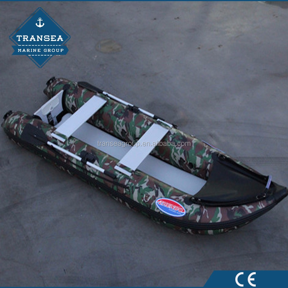 CE certificate professional hypalon material inflatable kayak with cheap price