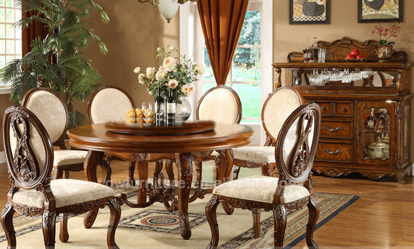 Alibaba Italian Nice Hot Sale French Style Dining Room Furniture