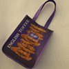 Recyclable Strict Quality Control Purple Non Woven Bag