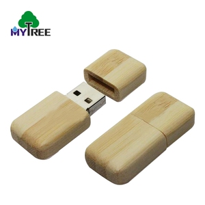 New Products 3.0 / 2.0 Interface Type Flash Drives Wooden Promotional Pen Drive , Custom USB Stick Maple Wood With Logo