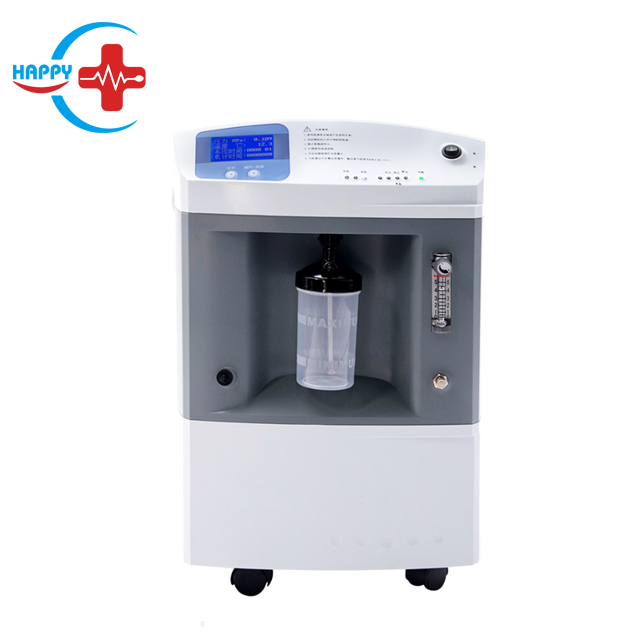 HC-I037C High quality  Medical use 10L portable Oxygen concentrator with one or two bottles price/oxygen concentrator price