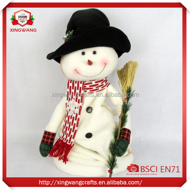 Wholesale New style particular Beautiful christmas snowman decoration dolls