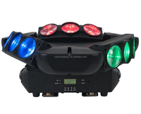 led moving head Beam light 9 Lens RGB Spider Laser Beam Moving Head Stage Light DJ Club