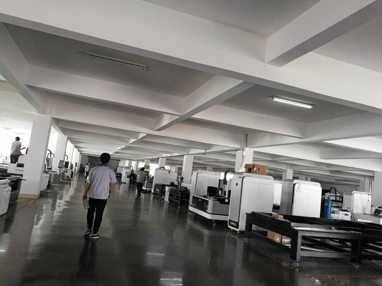 Fiber Laser Cutting Machine Cut Stainless Steel Carbon Steel From G.weike Laser