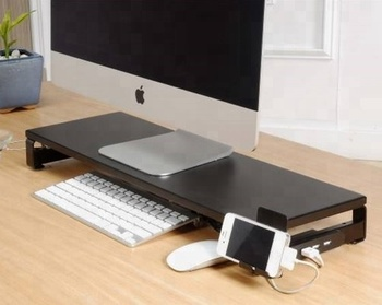 Wooden Monitor Riser Stand