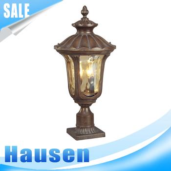 European Style Garden Lamp U0026 Waterproof IP65 Outdoor Pillar Pole Light With  CE Antique New Garden