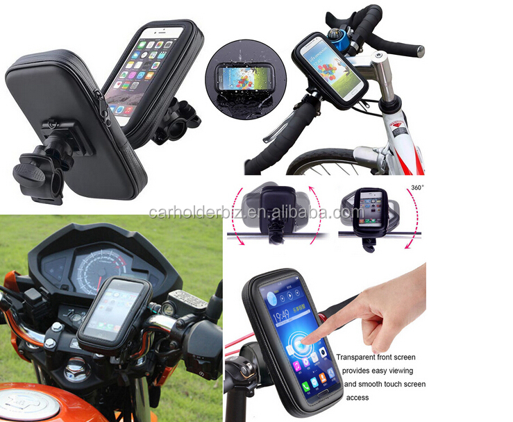 2016 New Version 360 Waterproof Bike Bicycle Mount Holder Phone Case Cover for Apple iPhone iPod
