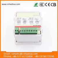 Wholesales New Dc ZK-3UIF35 Led 4 Digit Voltmeter Ammeter Multifunction Digital Panel Meter