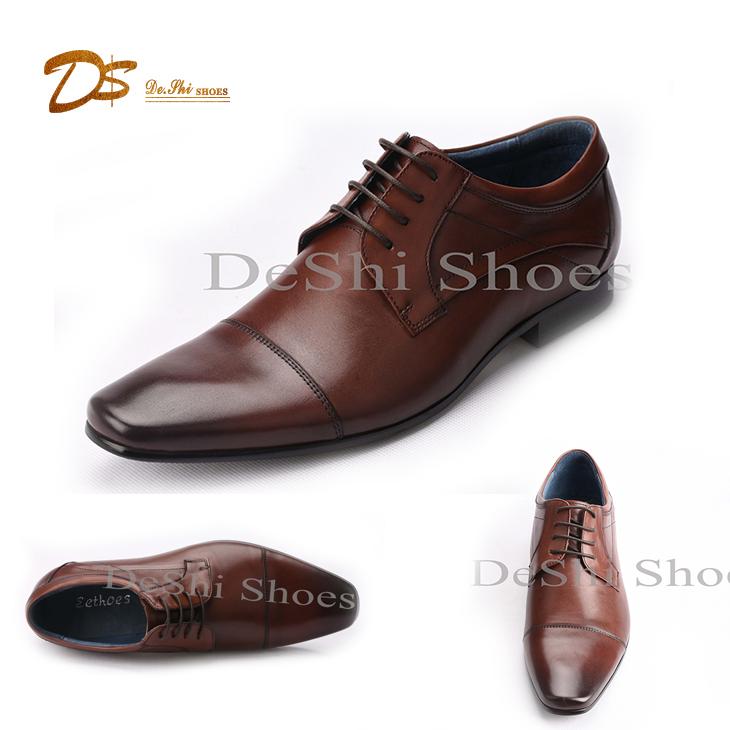 baba207d0e9e7 Hot sale italian leather mens brogues lace up dress shoe, china wholesale  brand name european shoes for men