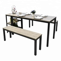 WGT newest design quality assurance dining table modern
