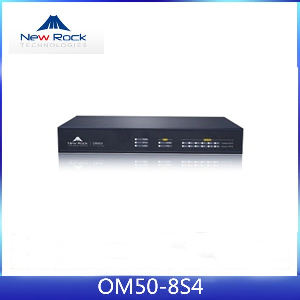 New Rock Om50-8s/4 Mini Pbx System With Analog Trunk