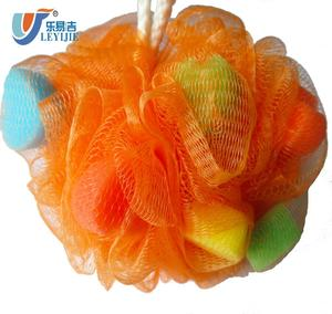 Disposable Beauty Flower Body Cleaning Scrubber Sponge Bath Sponge
