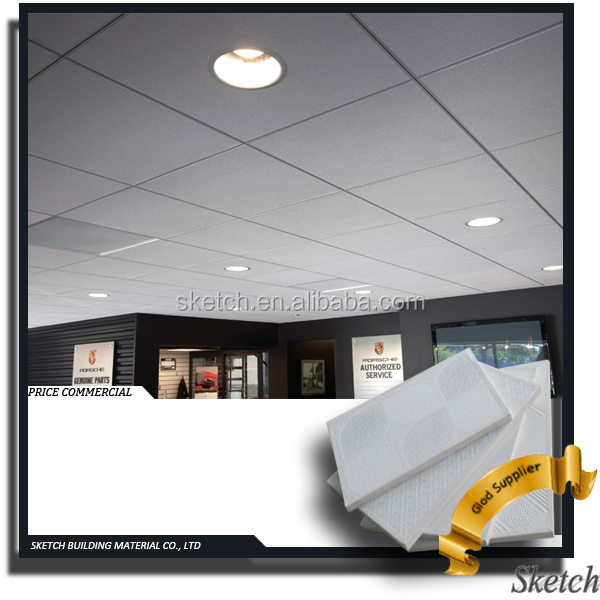 China Cheap PVC Gypsum types of false ceiling finishing