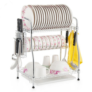 Easy Assemble kitchen Metal dish drying wire rack drainer ,NSF Approval