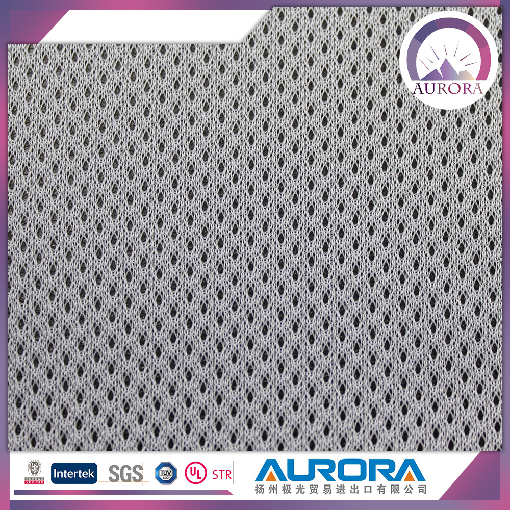 New design stretch 100% polyester outdoor mesh fabric