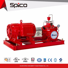 UL/FM Listed Fire pump Set With Horizontal centrifugal Electric Motor Driven Split Case Fire Pump 1500gpm