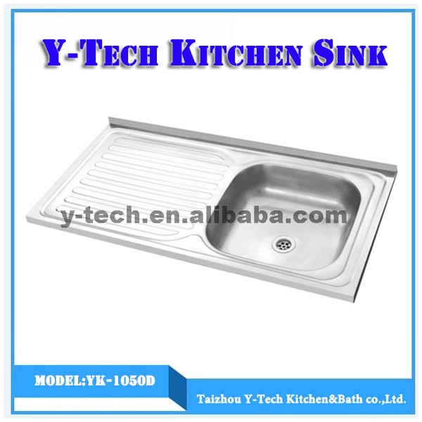 Ukuran Umum Dapur Tahan Karat Basin Lipat Sink Anti Yk 1050d