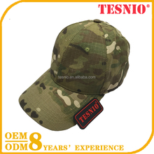Multicam Pattern Baseball Cap Military Hat Cotton Polyester Tactical Camouflage Hat