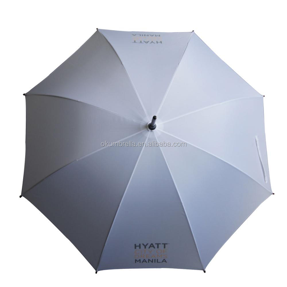 Hot promotion new straight umbrella metal frame 23''*8k windproof