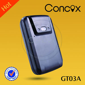 Concox Hot sale GPS Tracker Anti Jammer Tracking by cell phone GT03A