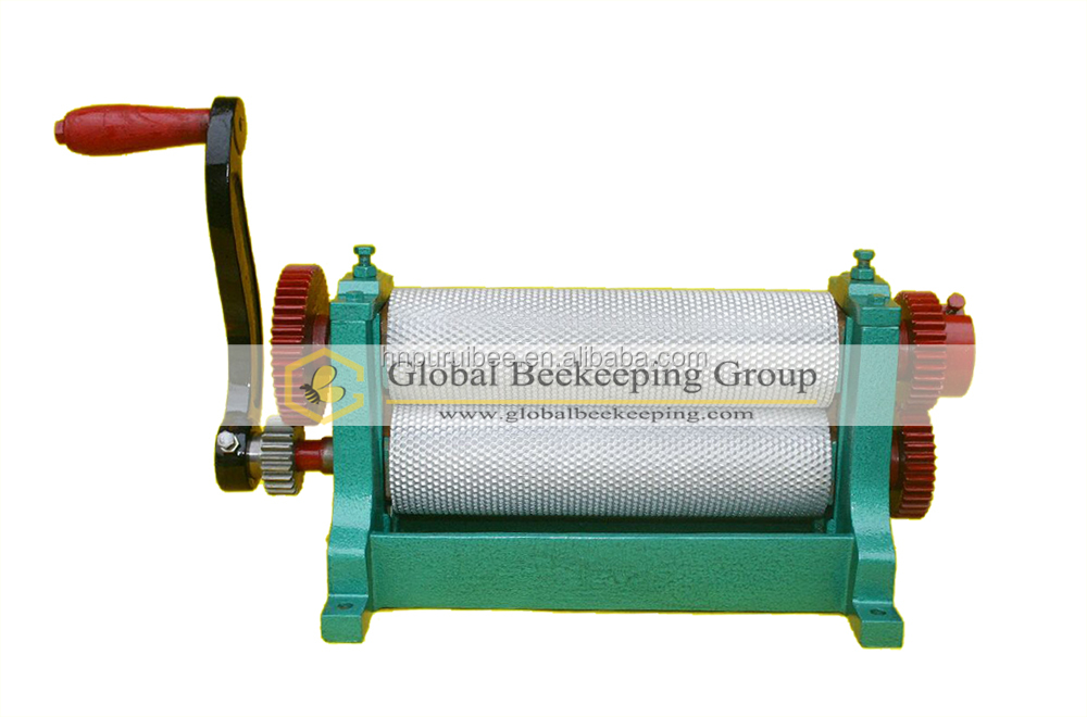 hot sale manual Beeswax foundation sheet machine