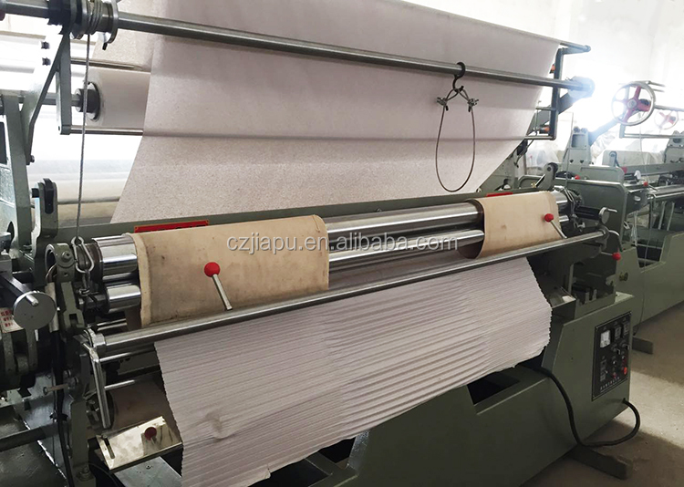 fabric pleating machine 217