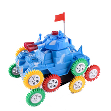 Fast driving mini flip tank electric battery operated toy race car
