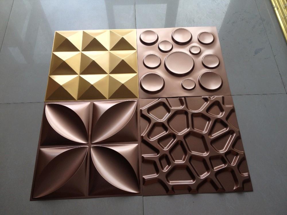 Novo produto decorativo placas de pvc 3d adesivos de for Placas de pvc para paredes