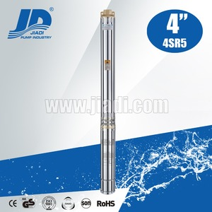 2hp 3hp 5hp 15hp deep well stainless steel 4SR5 series submersible pump price