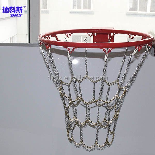 how to put on chain basketball net