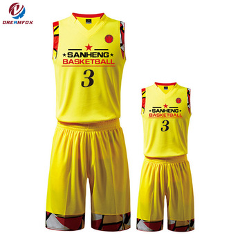 f0dfa6422 Cheap Wholesale best quality Latest basketball uniform jersey design Color  Blue Red Black custom reversible jersey