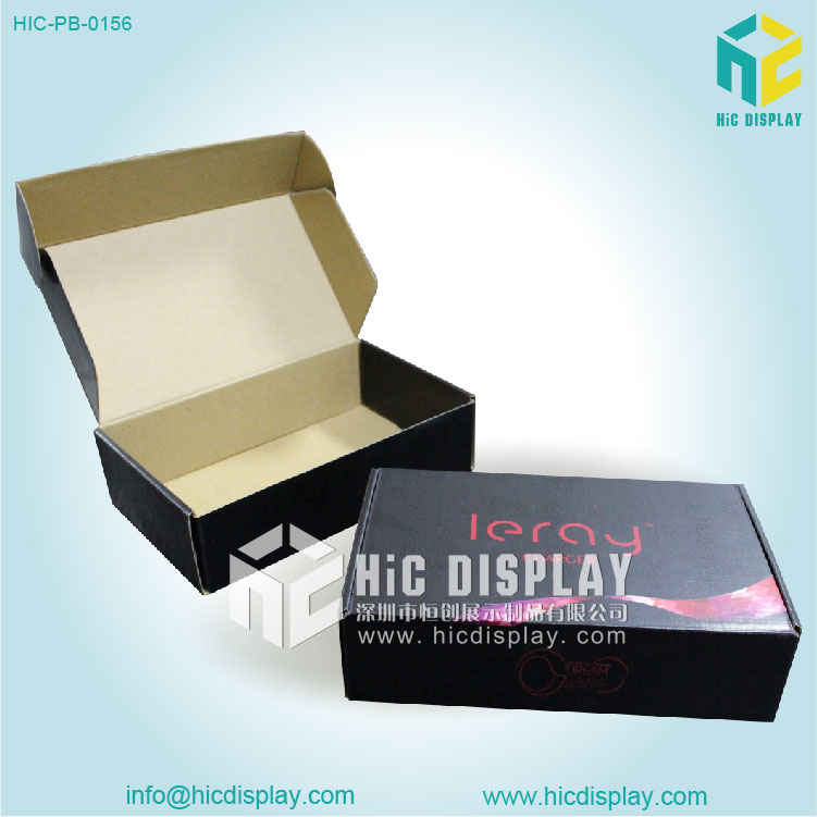 Cardboard foldable paper box
