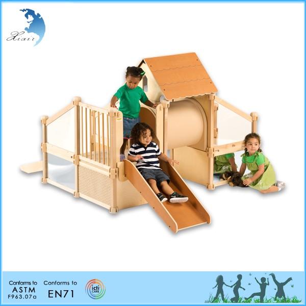 2016 montessori school furniture kindergarten indoor kids for Indoor gym equipment for preschool