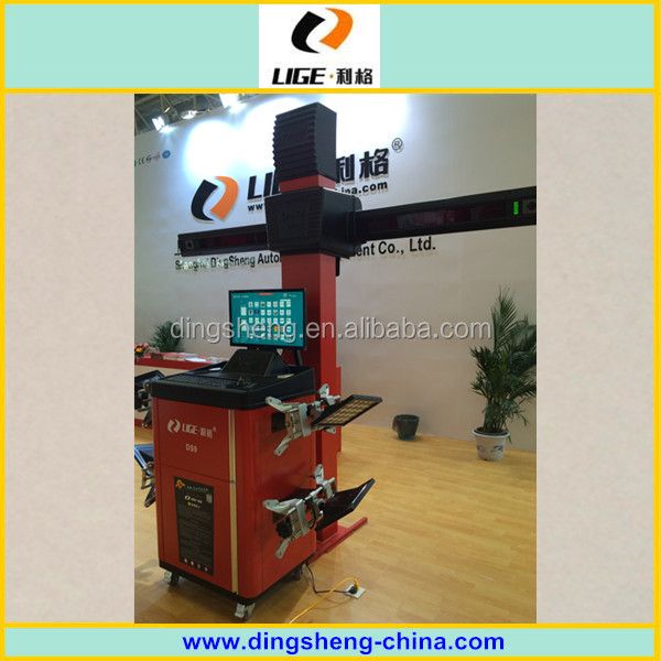 3D wheel alignment for vehicle testing machine, car wheel alignment machine DS9