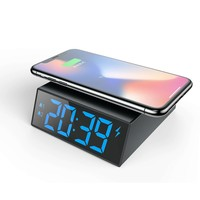 Factory Price Desktop Fast Wireless Charger With Qi Standard Charging Phone
