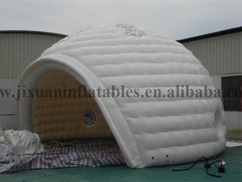 new product South pole ice house shape inflatable igloo tent & new product South pole ice house shape inflatable igloo tent ...