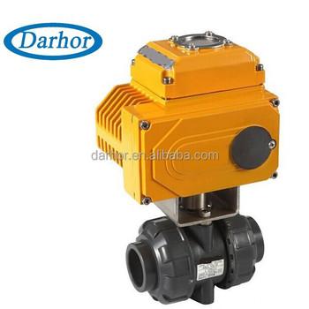 Darhor Advanced Pvc Electric Actuator Ball Valve
